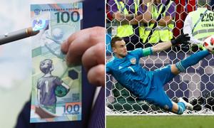 Đồng tiền dự đoán pha cản phá xuất thần của thủ môn Nga