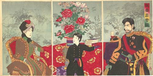 Nghệ nhân Ukiyoe phải bỏ ra rất nhiều công sức để tạo ra một bức tranh mộc bản. Phía trên là bức tranh với tựa đề Bữa tiệc mùa đông, được Utagawa Toyoharu làm.
