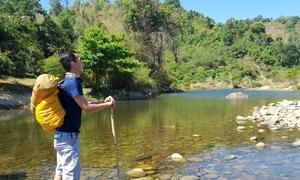 Khám phá dọc suối Hồ Tiên giữa rừng bạt ngàn