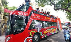 Xe buýt hai tầng Hà Nội thêm tuyến giá rẻ hơn