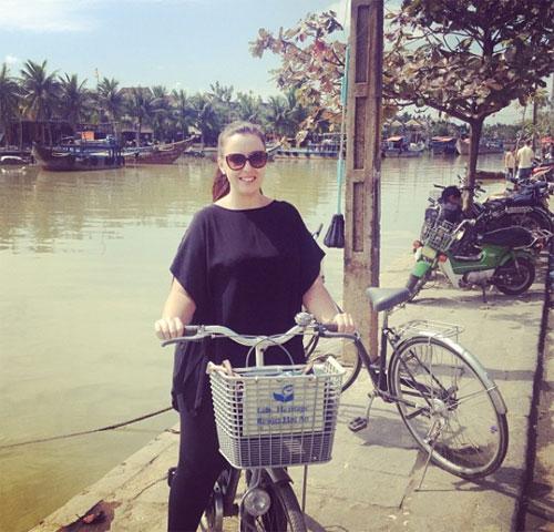 JayneGorman từng đến Việt Nam 2 lần. Ảnh: Instagram.