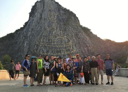 Đoàn khách TST tourist du ngoạn Thái Lan.
