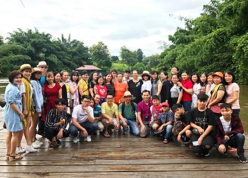 Kanchannaburi hoang sơ khiến du khách thích thú.