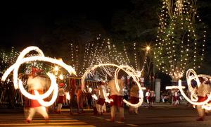 Điệu múa 'đùa với lửa' của người Sri Lanka