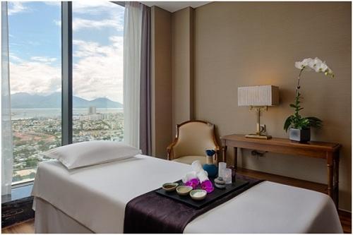 Serenity Spa tăng thêm một tiện ích đẳng cấp trong khách sạn.
