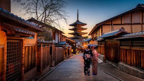 Cố đô Kyoto đẹp mê hồn.