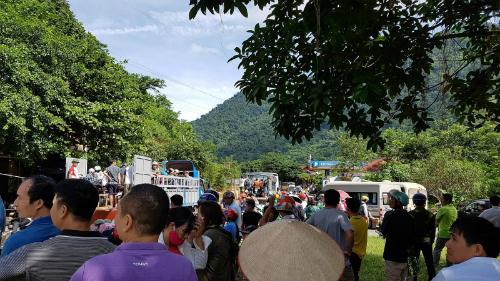 Hàng nghìn du khách đổ về Mộc Châu trong dip lễ 2/9. Ảnh: Tôi Yêu Mộc Châu.