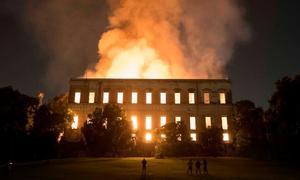 Vụ cháy bảo tàng Brazil bị coi là thảm họa toàn cầu