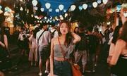 Á hậu Hong Kong khoe mặt mộc trong chuyến du lịch Việt Nam