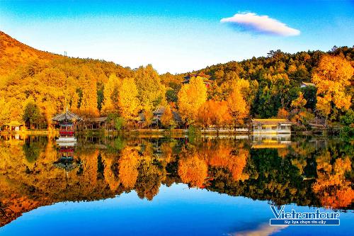 Mùa thu của Lệ Giang luôn thu hút du khách đến chiêm ngưỡng.