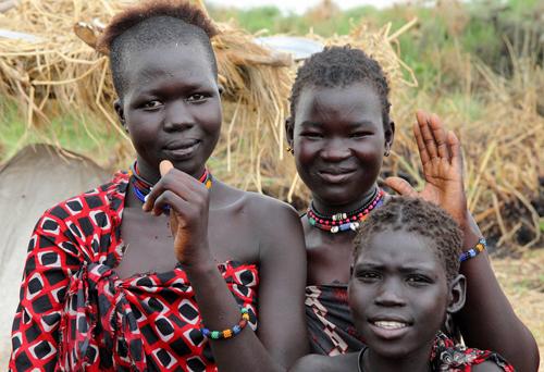 Người dân ở Nam Sudan phần lớn theo nghề canh tác, chăn nuôi. Ảnh: Norwegian Peoples Aid.