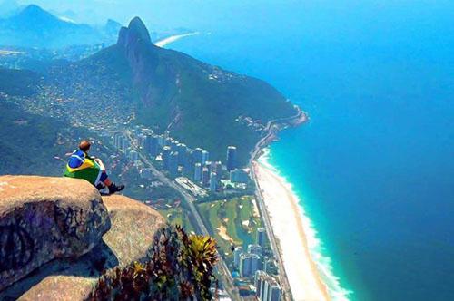 Jamie ở Brazil. Ảnh: BBC.