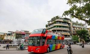 Hà Nội tiếp tục mở thêm tuyến buýt mui trần 2 tầng