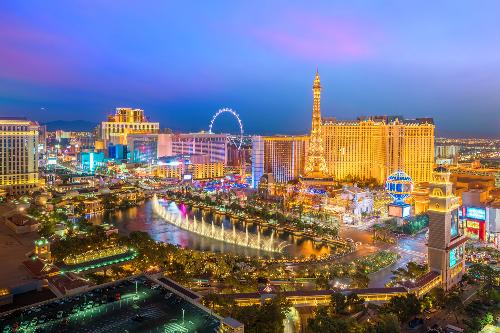 Las Vegas - thiên đường giải trí ở Mỹ.
