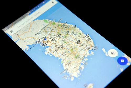 Ứng dụng tìm đường của Hàn Quốc chỉ hữu ích nếu du khách biết tiếng Hàn. Ảnh:Reuters.