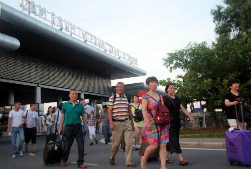 Nha Trang là điểm đến yêu thích của khách Trung Quốc.Ảnh: Xuân Ngọc.
