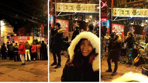Dù thời tiết Hà Nội lạnh giá, không ánh mặt trời, Cathy vẫn cảm thấy rất yêu thích khung cảnh mùa đông. Ảnh: Tripzilla.