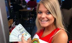 Gọi hai ly nước, khách hàng tip bồi bàn 10.000 USD tại Mỹ