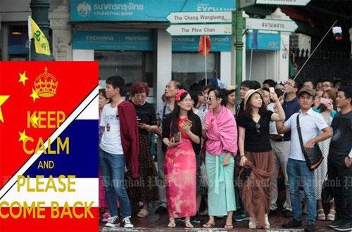 Chính quyền xứ sở chùa vàng đang tìm mọi cách kéo khách Trung Quốc quay lại. Ảnh: Bangkokpost.