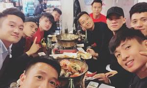 Tuyển Việt Nam chơi 'xả hơi' tại Seoul trước trận giao hữu 29/10