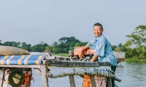 Khu chợ trên sông nổi tiếng nhất An Giang