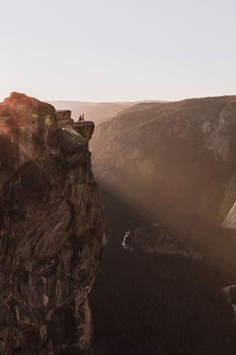 Bức ảnh Mathew chụp ở vườn quốc gia Yosemite. Ảnh: Buzzfeed.