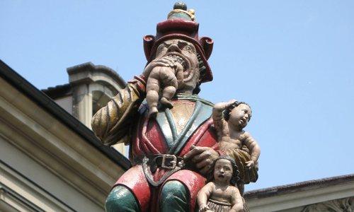 Giải mã bức tượng 'Quỷ ăn thịt trẻ em' ở Thụy Sĩ