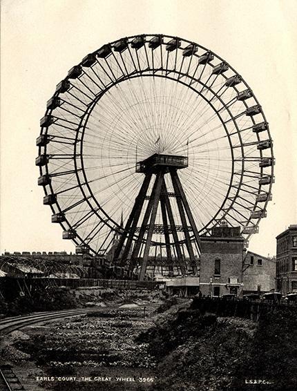London Eye (Mắt London) không phải vòng quay quan sát khổng lồ đầu tiên ở  London. Thực chất, danh hiệu này thuộc về Great Wheel, được xây dựng  vào năm 1895. Năm 1907, công trình này bị phá hủy. Hơn 90 năm sau đó,  London Eye mới được xây dựng.