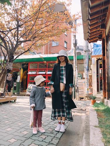 Ảnh tham quan Hàn Quốc của gia đình chị Uyên - 3