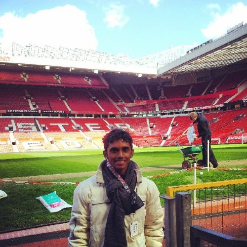 Kanesh chụp ảnh tại Nhà hát của những giấc mơ. Ảnh:Kanesh Pillai.