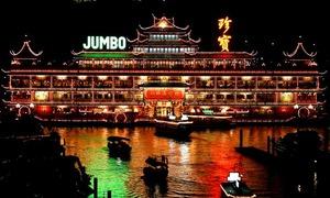 Nhà hàng nổi lớn nhất thế giới từng đón nữ hoàng Anh ở Hong Kong