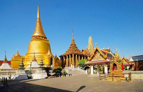 Những ngôi chùa dát Vàng là điểm đến không thể bỏ qua ở Thái Lan.