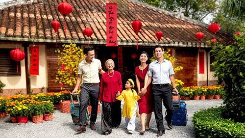Tết Nguyên đán năm nay với 9 ngày nghỉ là cơ hội để khách hàng có nhiều thời gian hơn tận hưởng những hành trình du xuân cùng gia đình.