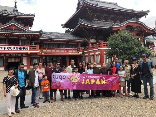 Tour Nhật Bản 5 ngày 5 đêm tại Tugo. Ảnh: Tugo.