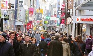 Những con đường mua sắm hút khách nhất nước Đức
