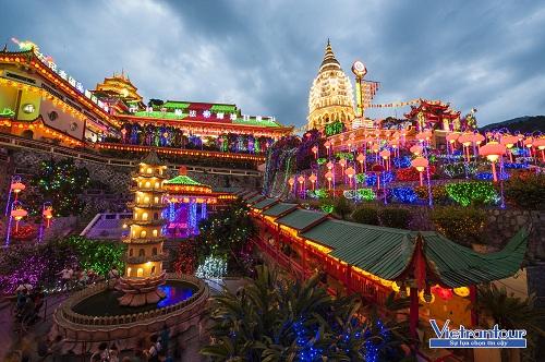 Chùa Phật giáo lớn và đẹp nhất Đông Nam Á - Kek Lok Si, hấp dẫn du khách đến Penang