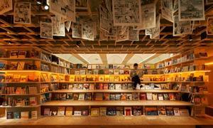 Nhà nghỉ ngập tràn sách ở Nhật Bản