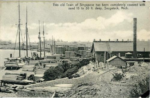 Thị trấn Singapore trong những ngày hoàng kim. Ảnh:953mnc.