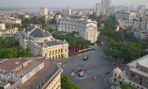 Phố Tràng Tiền được ví như Đại lộ Champs-Élysées trên sóng CNN