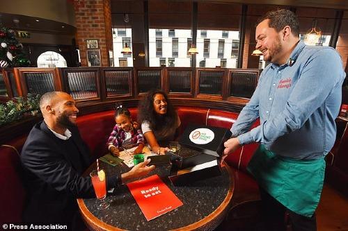 Thương hiệu này hiện có hơn 250 nhà hàng trên khắp nước Anh. Ảnh:PA.