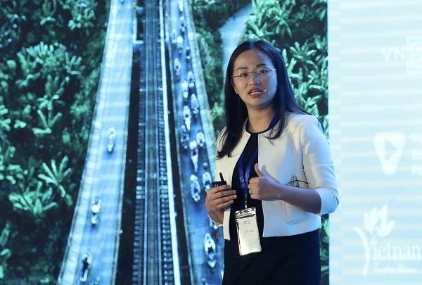 Bà Tuyết Vũ - Đại diện Tập đoàn Tư vấn toàn cầu Boston (BCG).