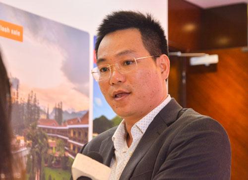 Ông Nguyễn Trung Vũ, CEO của IViVu.