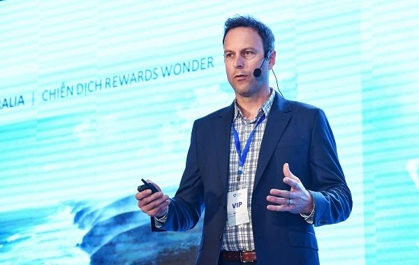 Ông Brent Hill, Giám đốc Marketing Hội đồng Nam Australia.