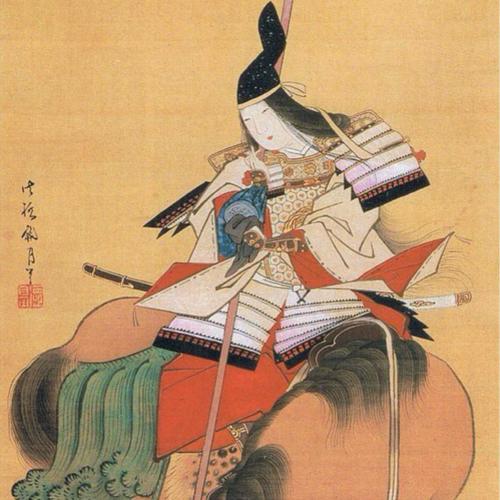 Tomoe Gozen trong tranh của hoạ sĩ Shitomi Kangetsu (17471797).