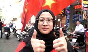 Người Malaysia ủng hộ Việt Nam nhưng tin đội nhà sẽ chiến thắng