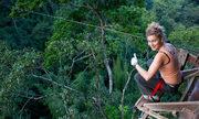 Tuyến zipline xuyên rừng tới ngôi nhà trên cây cao nhất thế giới