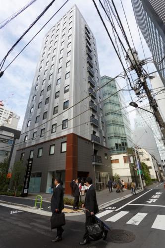 Khách sạn Henn-na ở Ginza, Tokyo. Ảnh: Mirror.