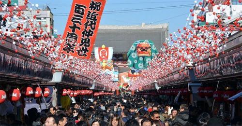 Thời điểm đông đúc khách du lịch trong và ngoài nước của Nhật Bản. Ảnh: Cultureguru.