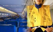 Lý do không nên làm phồng áo phao trước khi ra khỏi máy bay