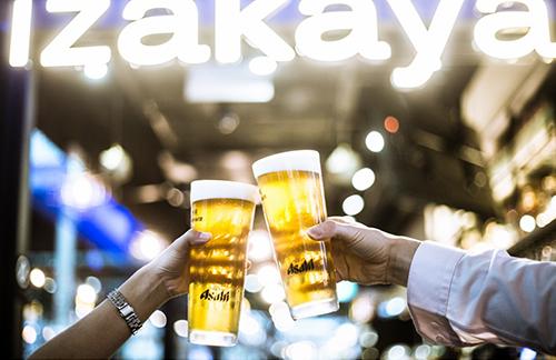 Bia là đồ uống phổ biến nhất trong Izakaya. Ảnh: TheSmartLocal.